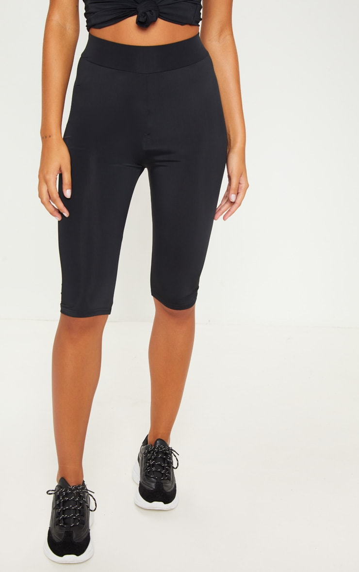 Black Basic 3/4 Gym Legging 2
