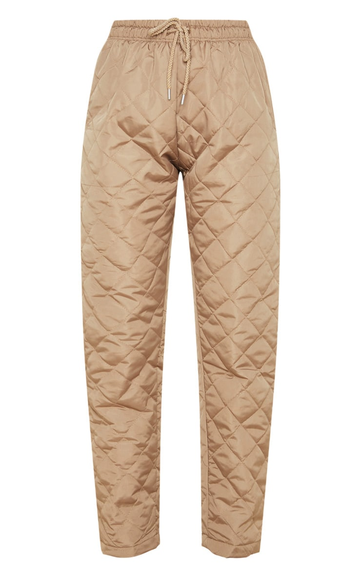 Stone Quilted Jogger  3