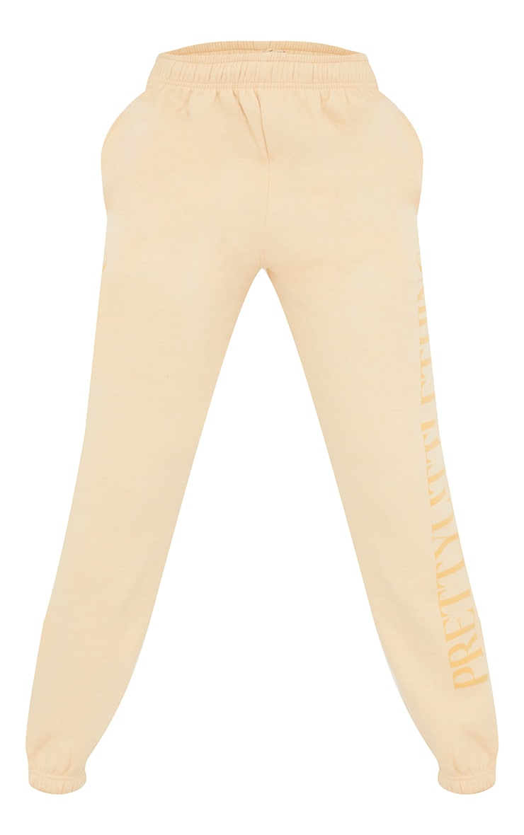 PRETTYLITTLETHING Tall Stone Copyright Joggers 5
