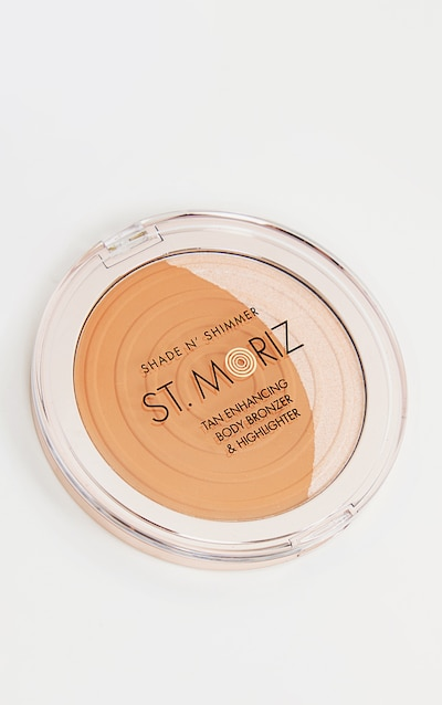St Moriz Professional Bronzer/Highlighter Duo