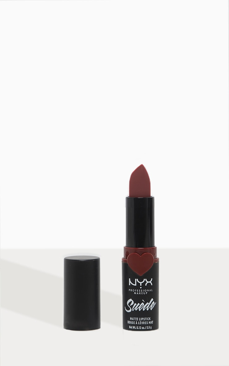 NYX Professional Makeup Suede Matte Red Berry Lipstick Cherry Skies 1
