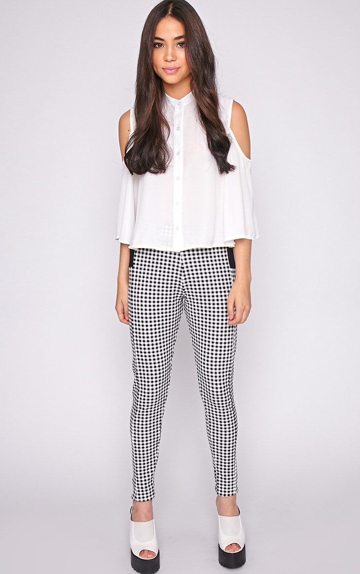 Luana Monochrome Gingham Legging 5