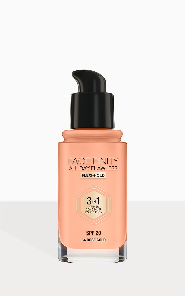 Max Factor Facefinity All Day Flawless Foundation Rose Gold 3