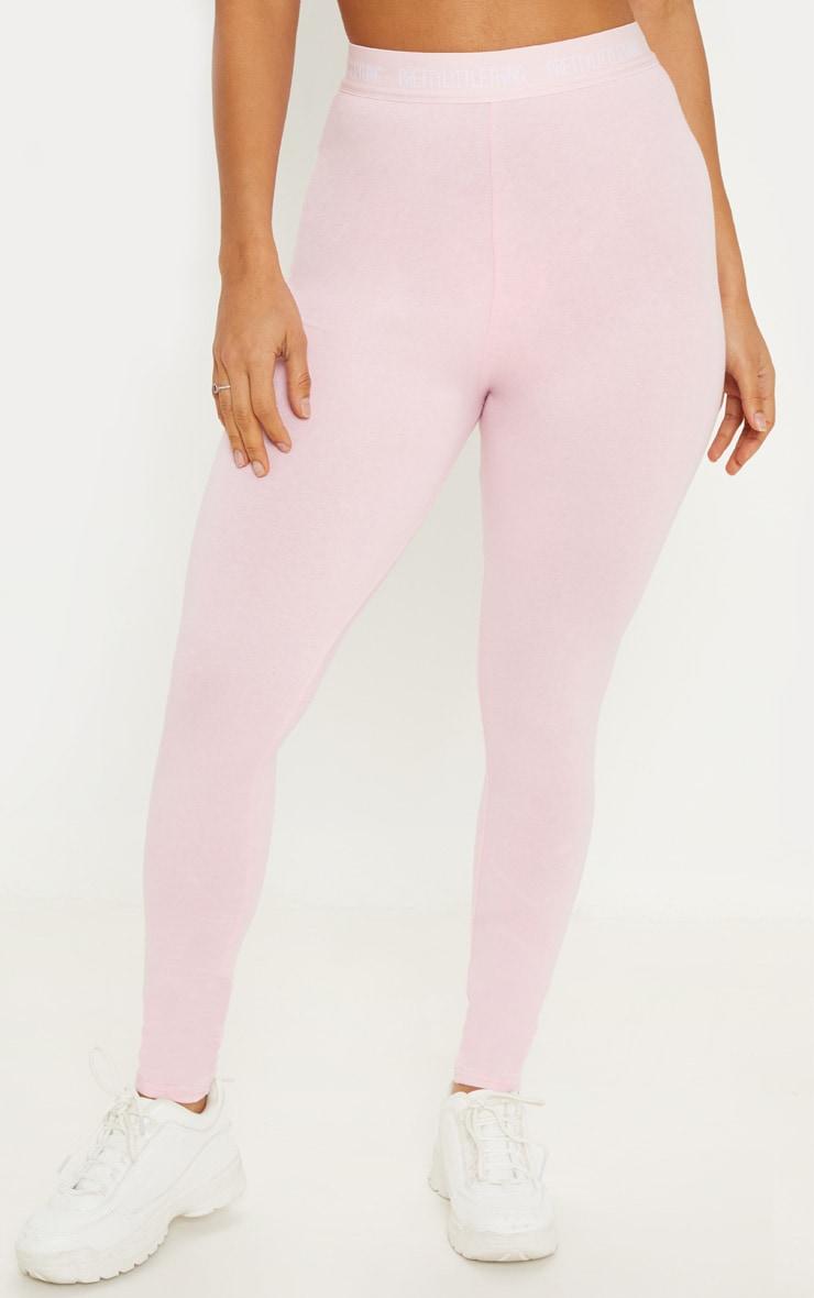 PRETTYLITTLETHING Pink Leggings 2