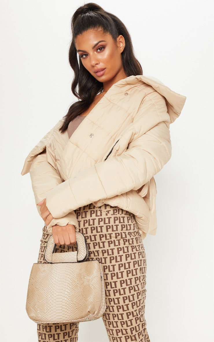 Beige Snake Mini Bag 1
