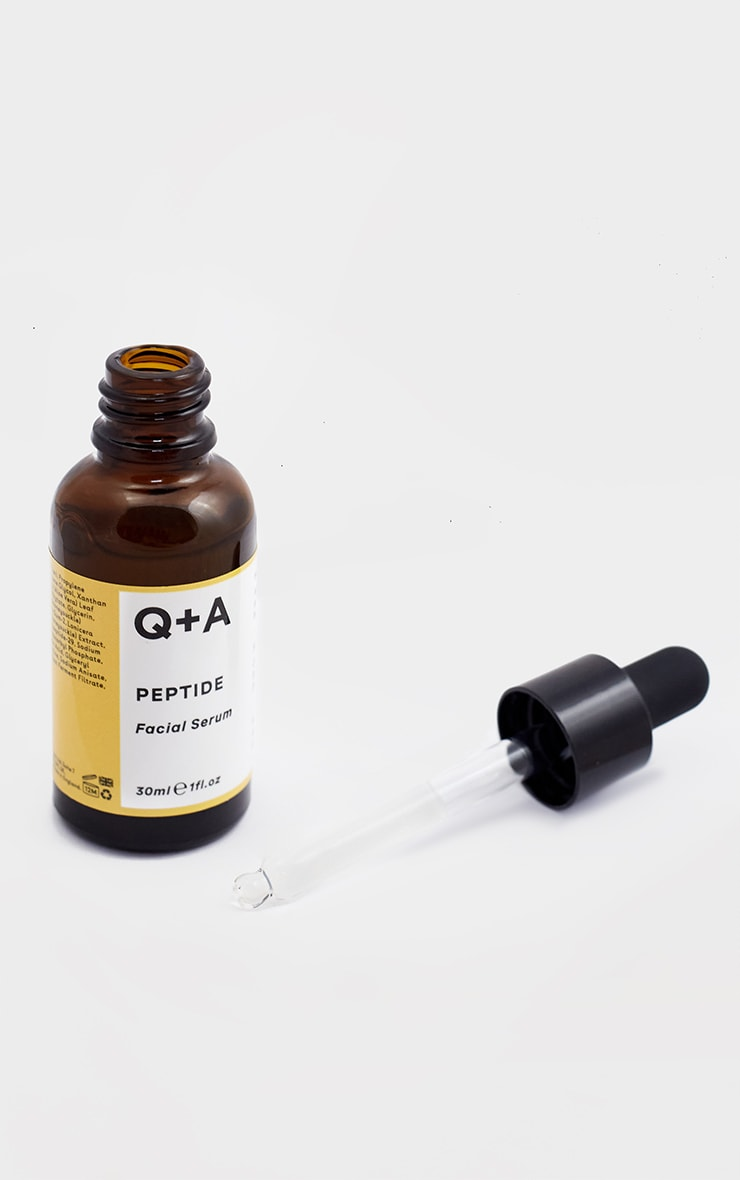 Q+A Peptide Facial Serum 30ml 4