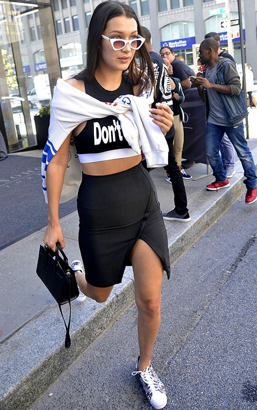 Aubree White Hollywood Crop Top 2