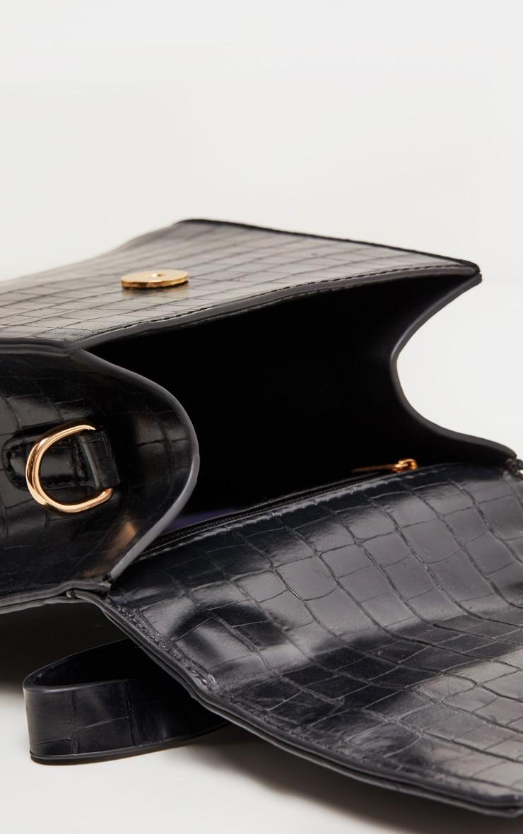 Black Ring Detail Bag 4