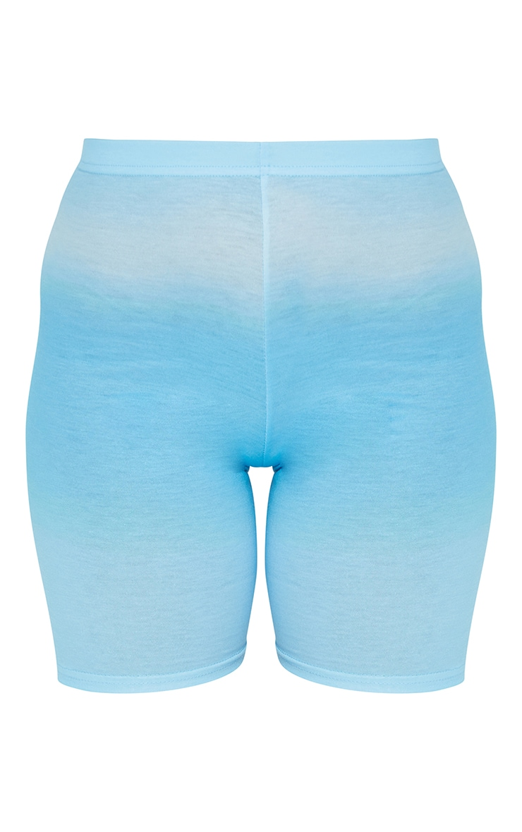 Petite Blue Ombre Cycle Short 6