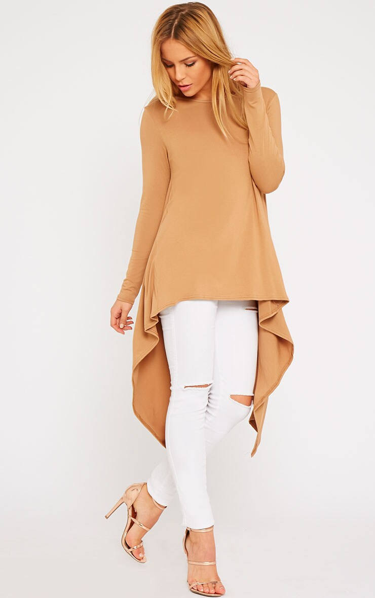 Sophie Camel Asymmetric Swing Top 4