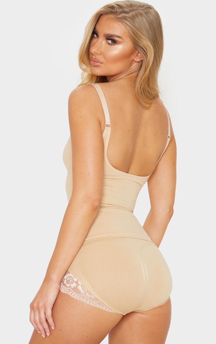 Nude Strappy Shapewear Vest 2