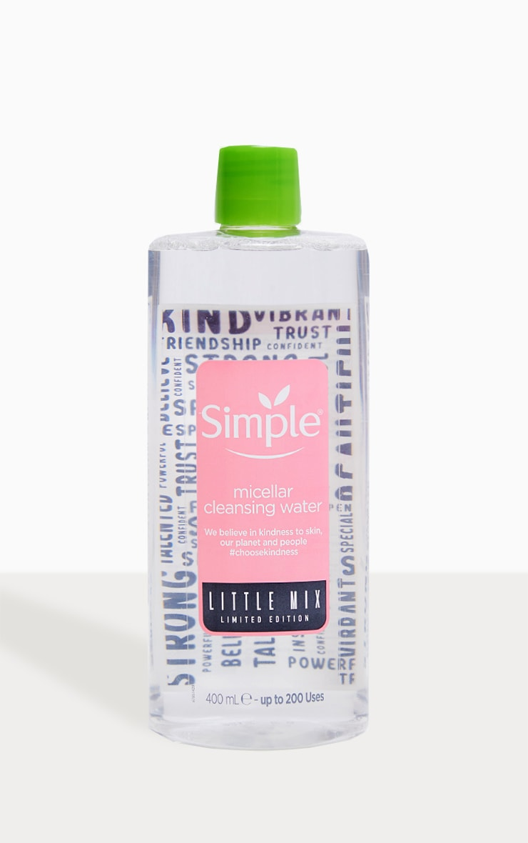 Simple X Little Mix Micellar Face Cleanser 400ml 1