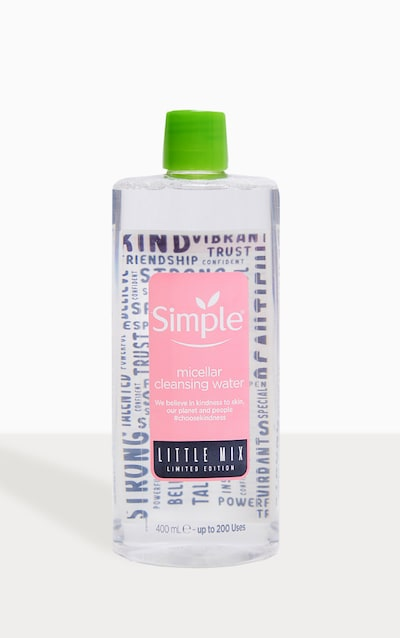 Simple X Little Mix Micellar Face Cleanser 400ml
