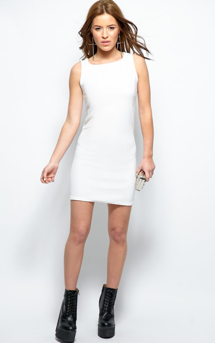 Ashton White Premium Shift Dress 4