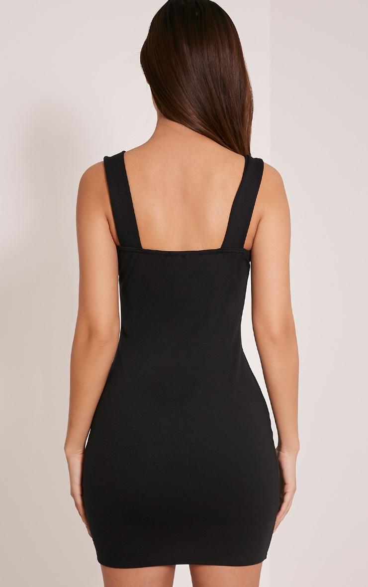 Shayla Black Ponte Plunge Bodycon Dress 2