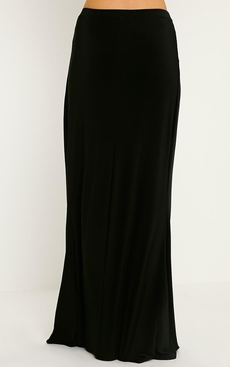 Dalia Black Maxi Skirt 3