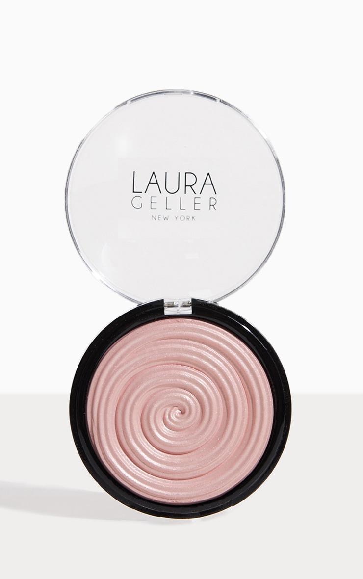 Laura Geller Baked Gelato Swirl Illuminator Charming Pink 1