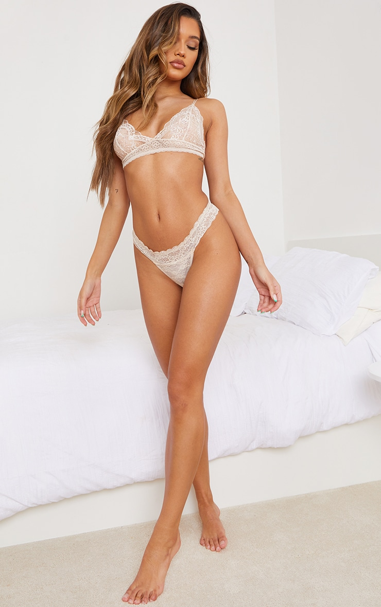 Nude Basic Lace Bra 3