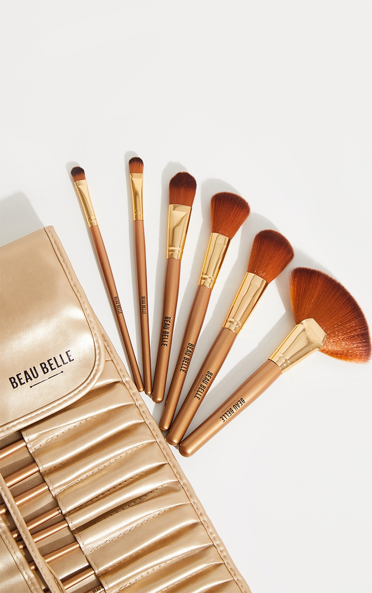 Beau Belle Brushes 21 Piece Gold Set 3