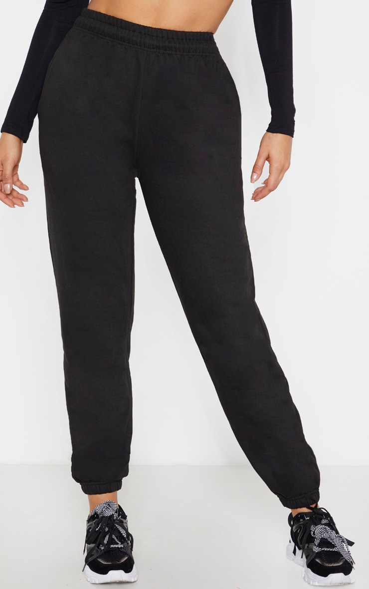 Tall Black Casual Pants  2