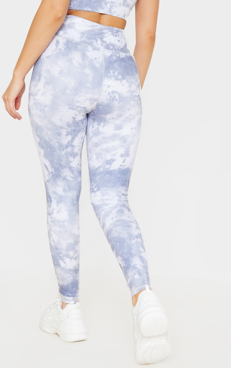 Blue Acid High Rise Gym Legging 4