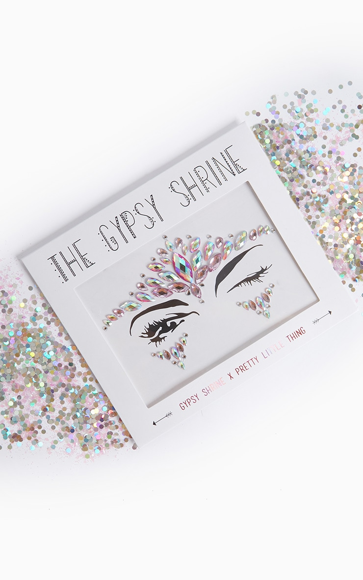 PRETTYLITTLETHING X THE GYPSY SHRINE FACE JEWEL 2