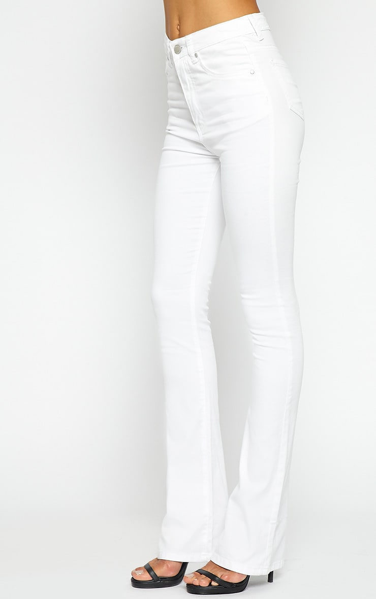 Nellie White Flared Jean 4
