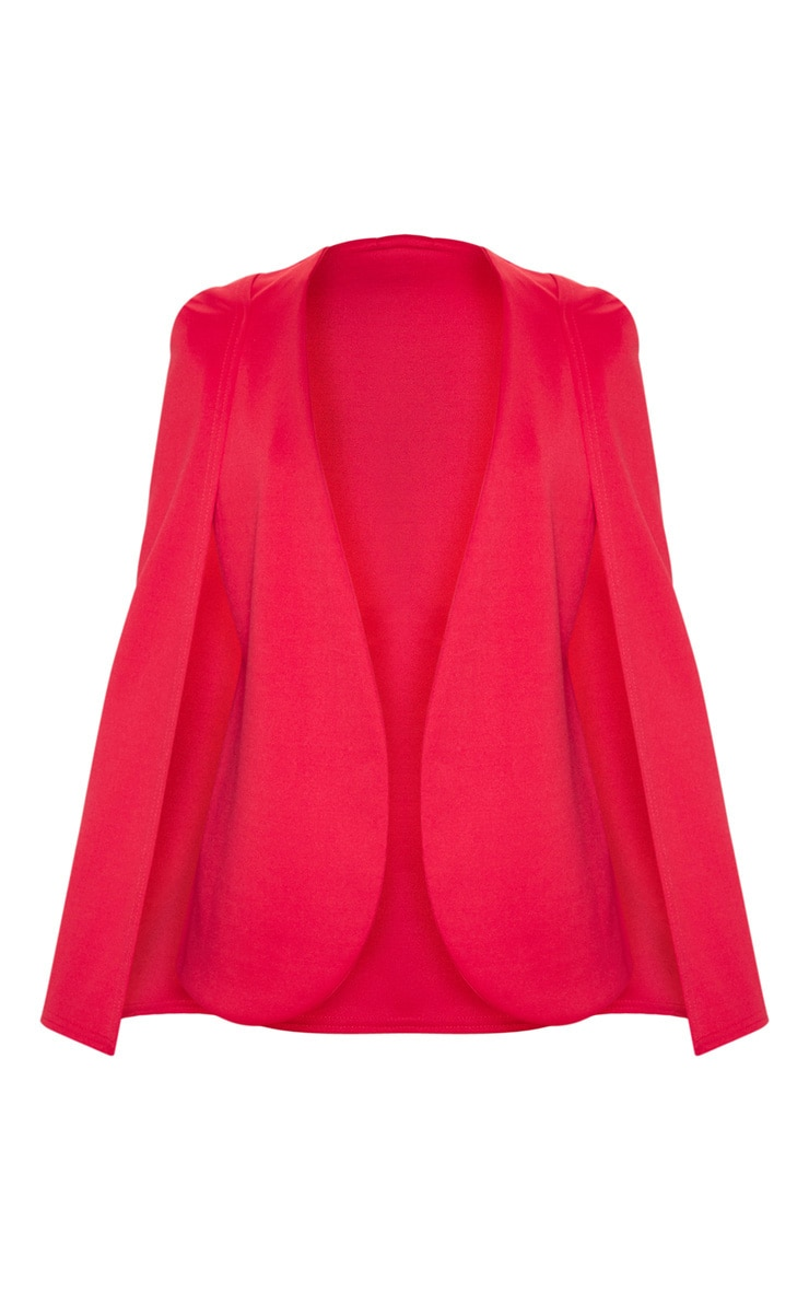 Red Cape Blazer 3