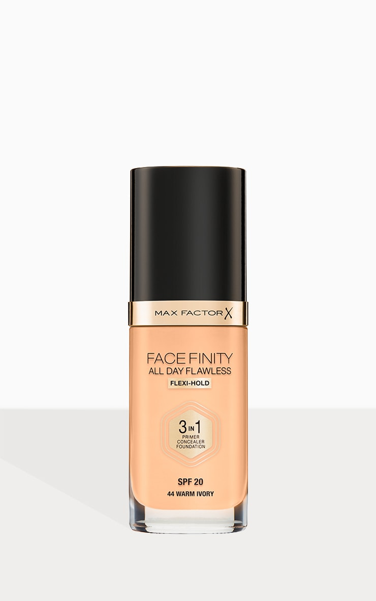 Max Factor Facefinity All Day Flawless Foundation Warm Ivory 1