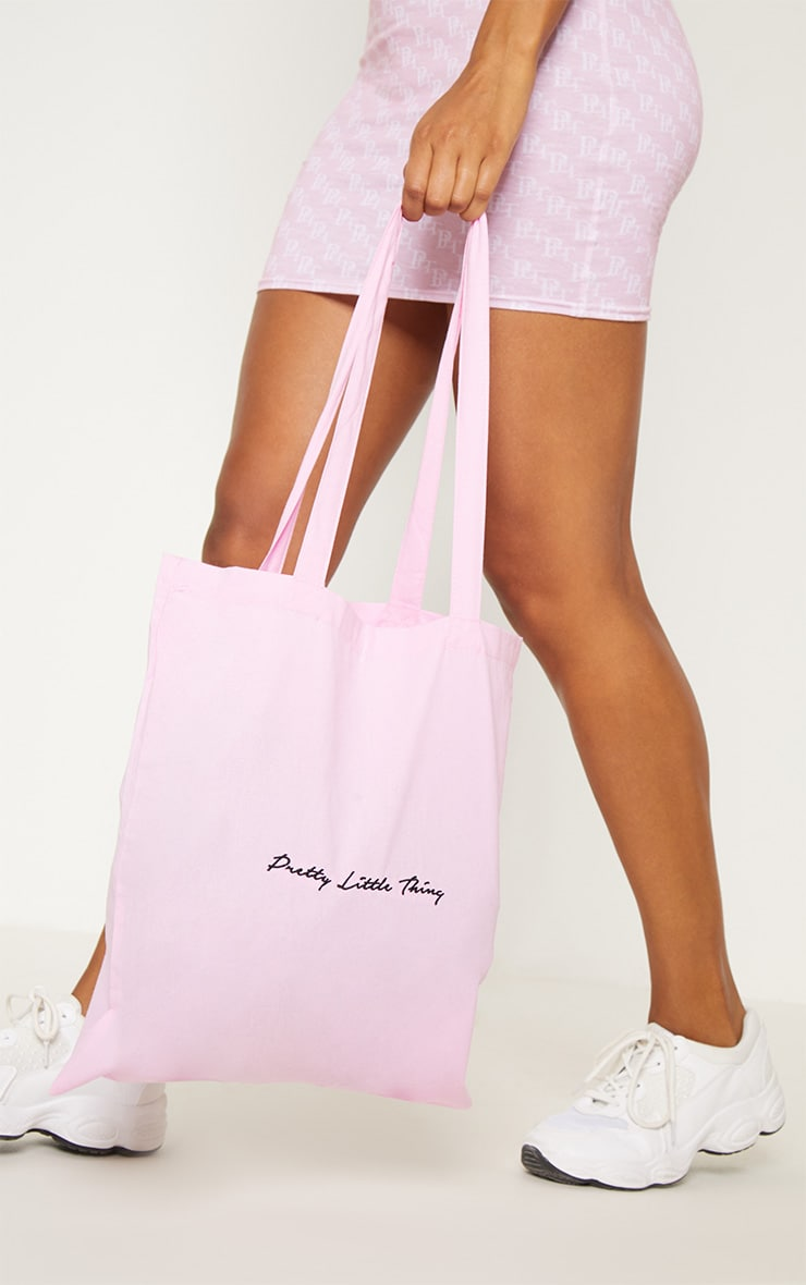 PRETTYLITTLETHING Pink Tote Bag 3