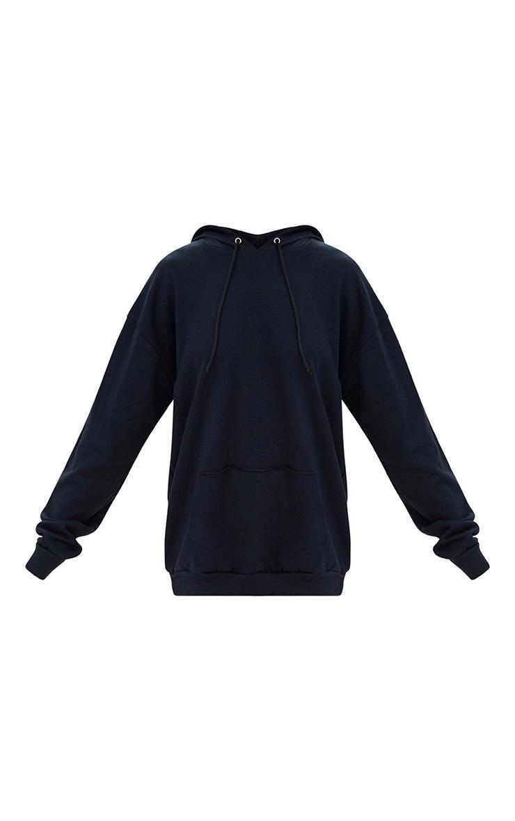Black Oversized Hoodie 3