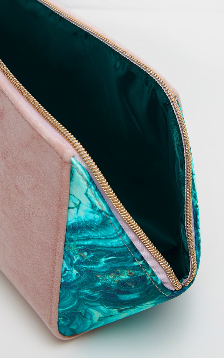 Spectrum Large Malachite Makeup Bag 4