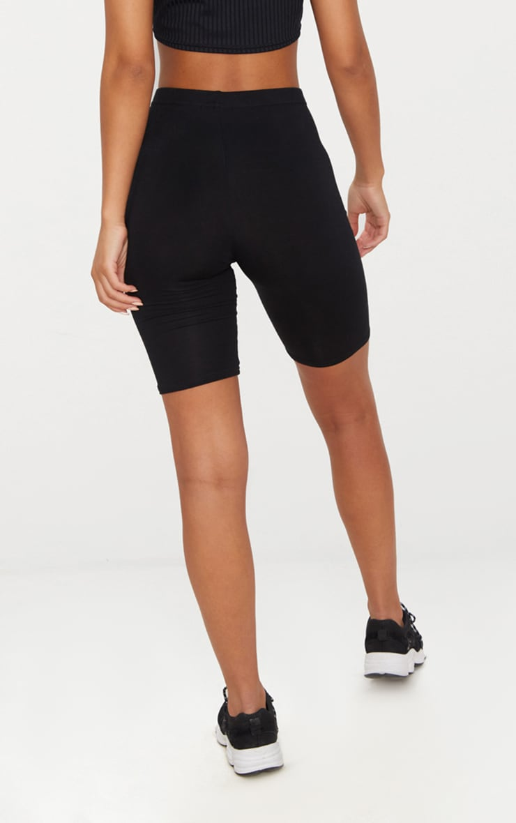 Basic Black Bike Shorts 5