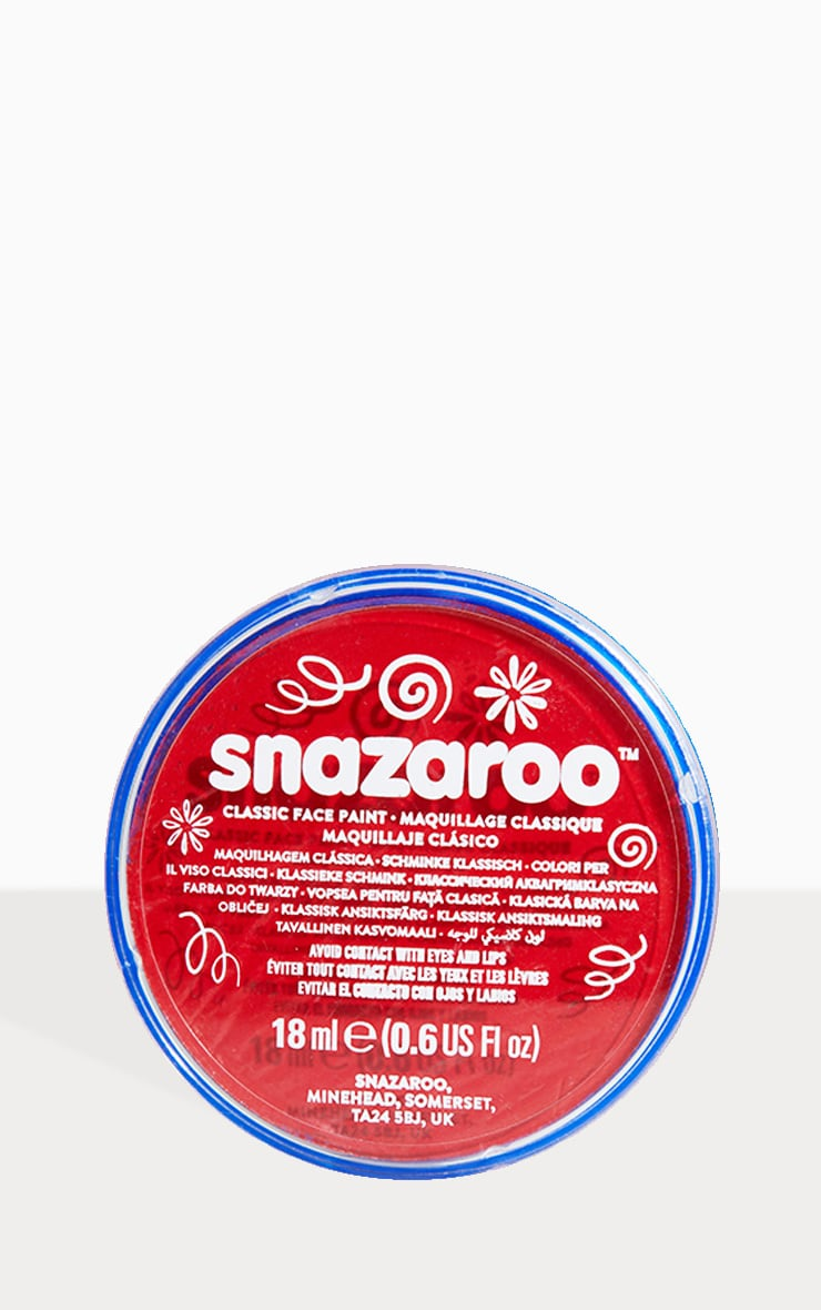 Snazaroo Red Face Paint 1
