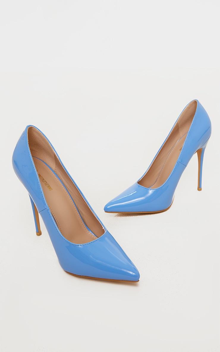 Baby Blue Court Shoe 3