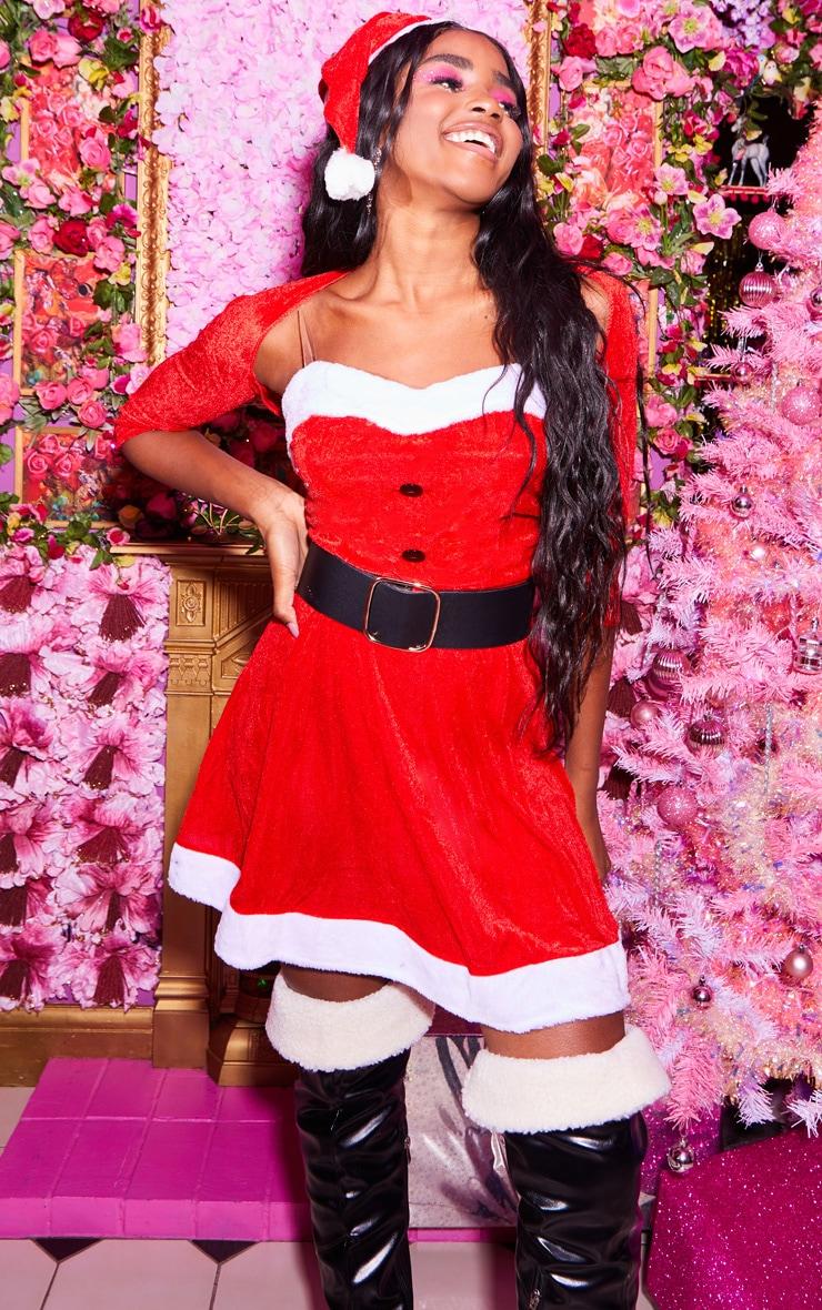 Red Sexy Premium Mrs Santa 1