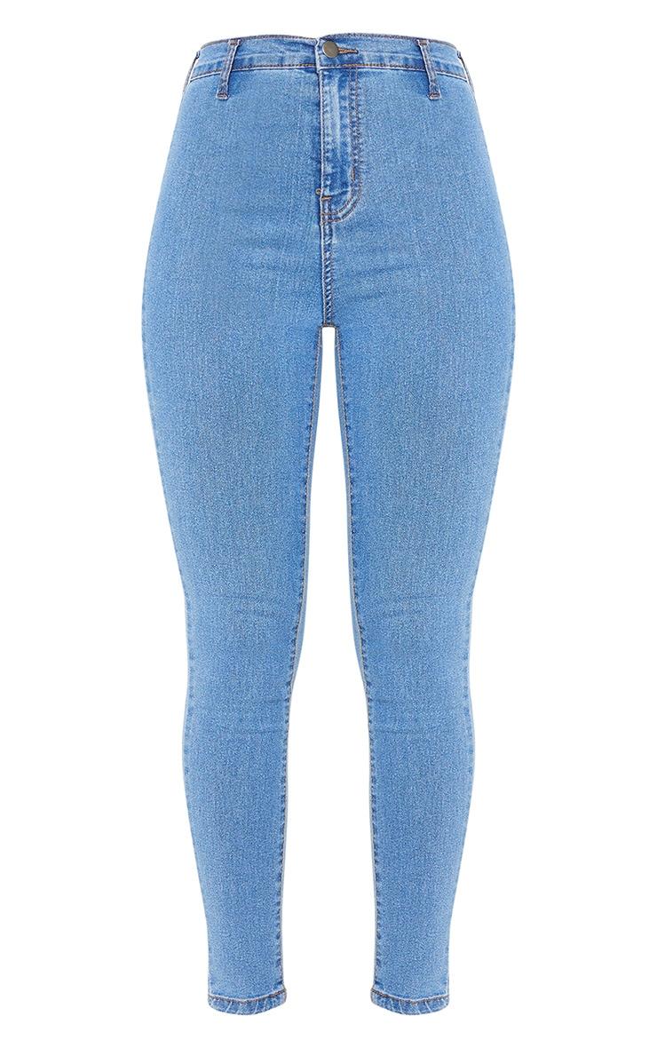 Mid Wash Disco Fit Skinny Jean 5