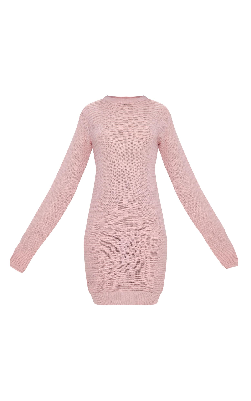 Nude Fine Knit Jumper Dress 3