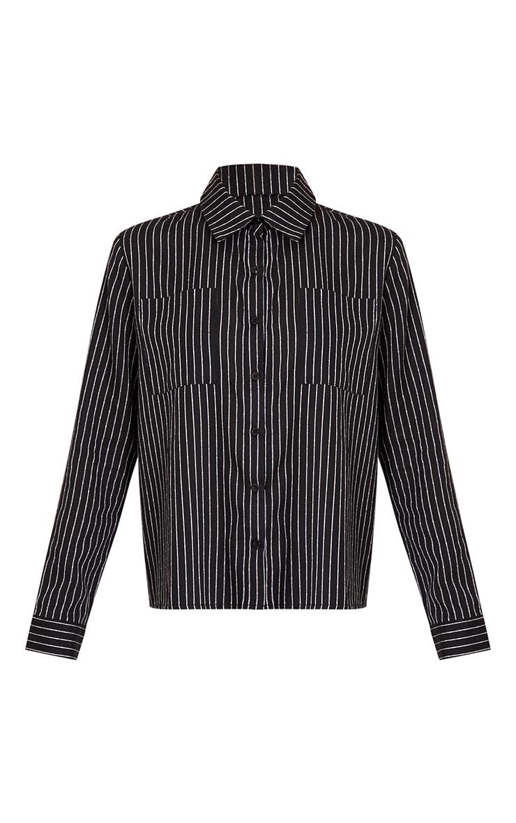 Bethany Black Soft Stripe Shirt 3