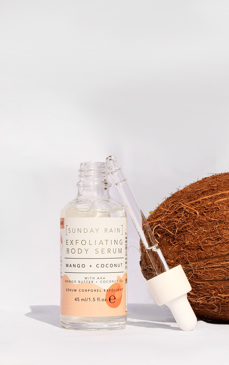 Sunday Rain Exfoliating Body Serum Mango & Coconut 1