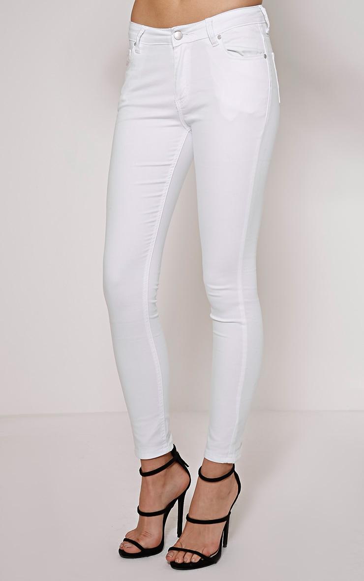 Joanne White Skinny Jean 3