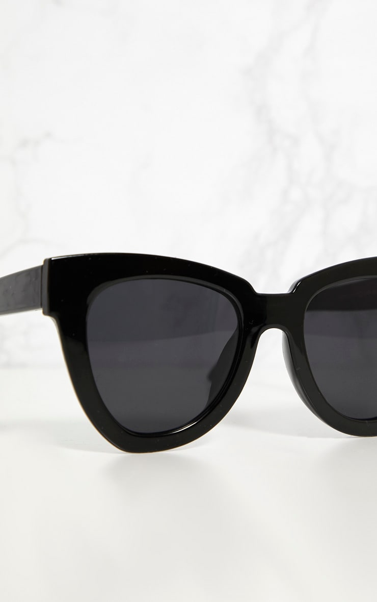 Black Winged Sunglasses 2