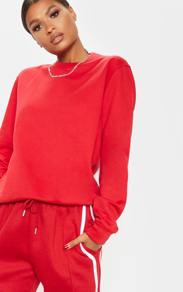 Red Ultimate Sweater 5
