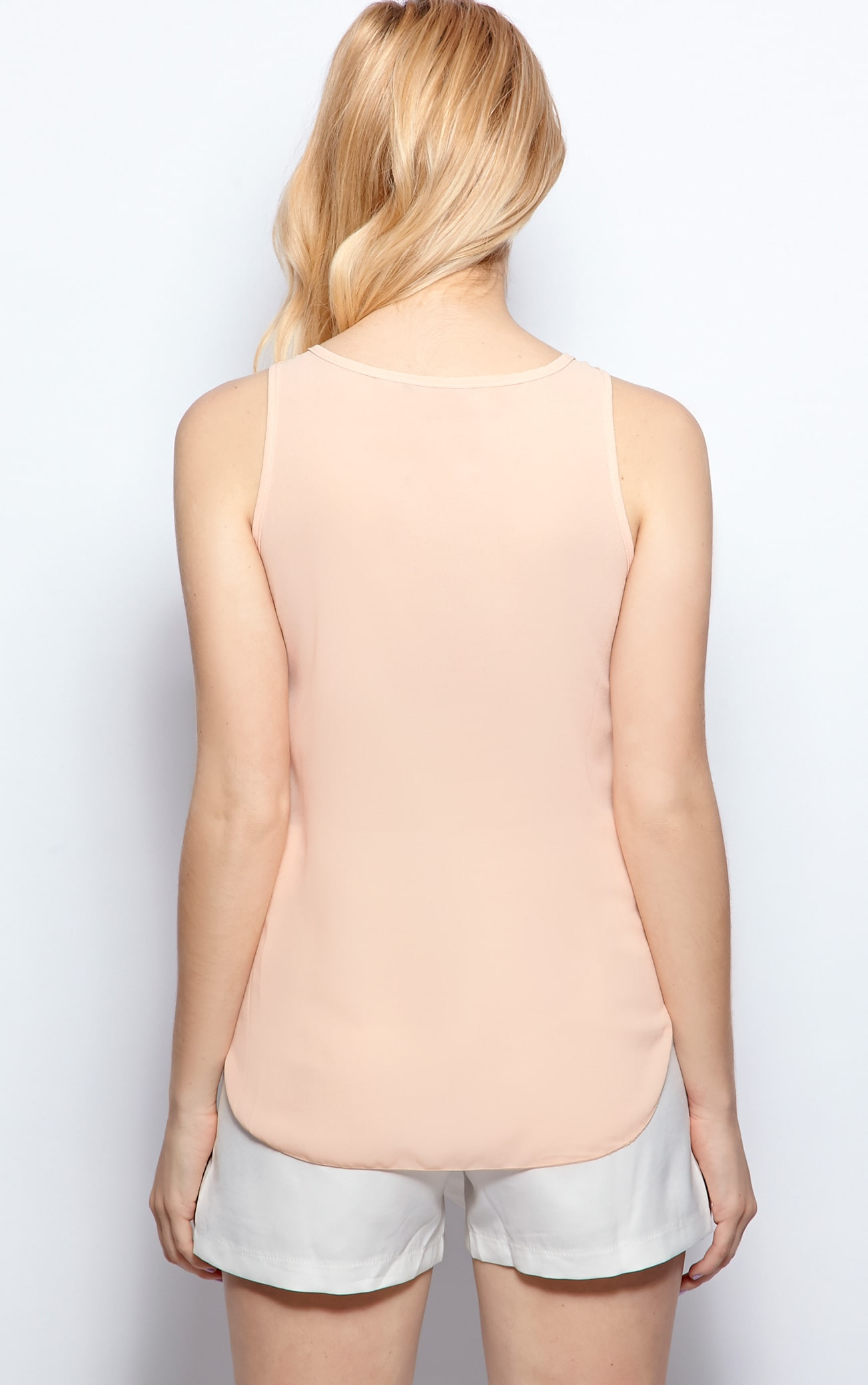 Raine Peach Embellished Cami  2