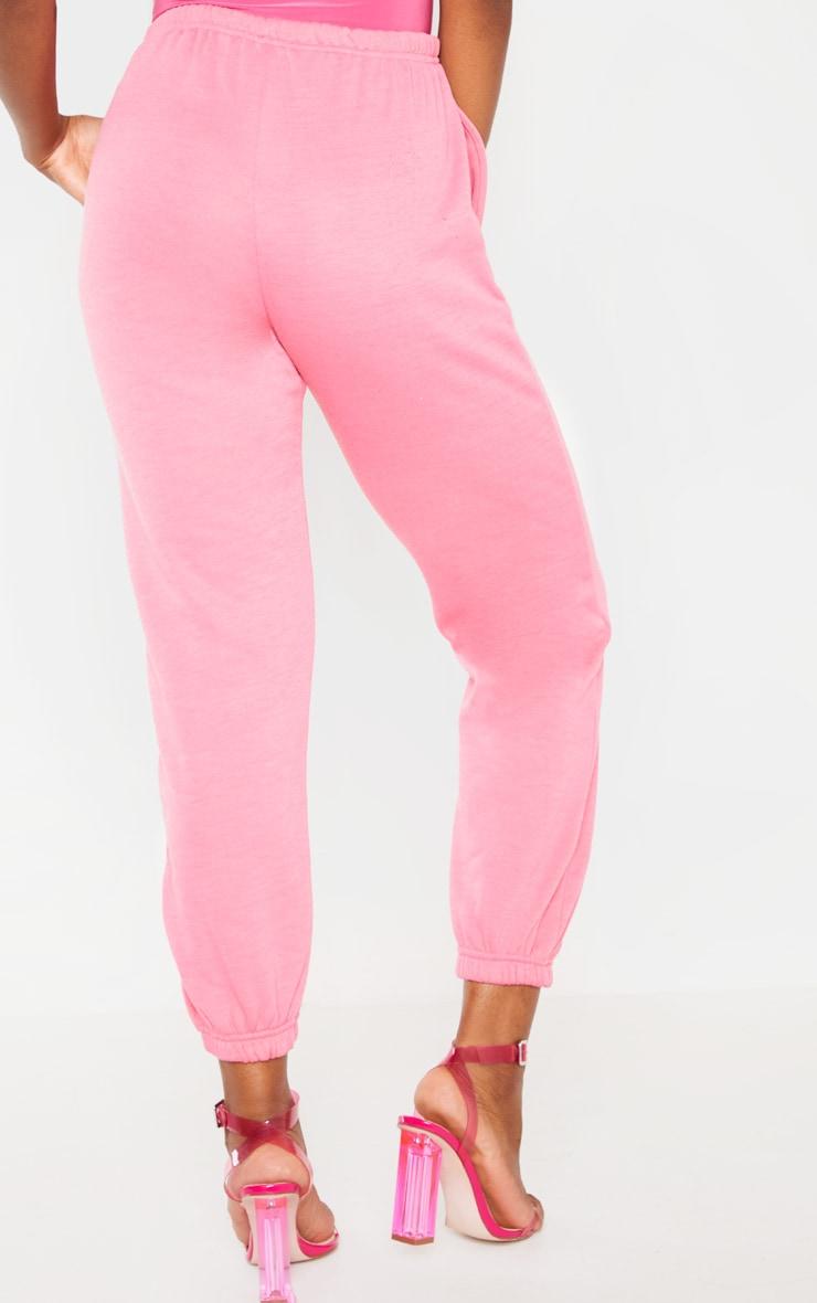 Hot Pink Casual Jogger 4