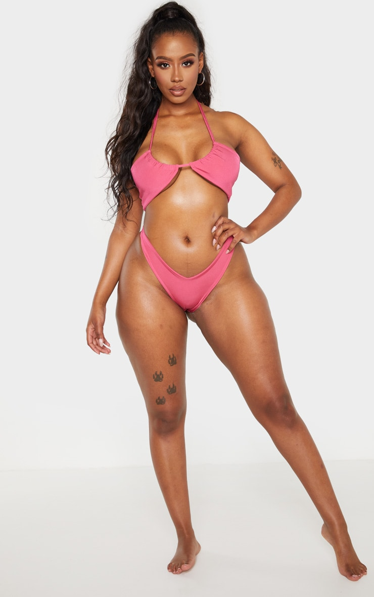 Shape Fuchsia Tiny Bikini Bottom 5