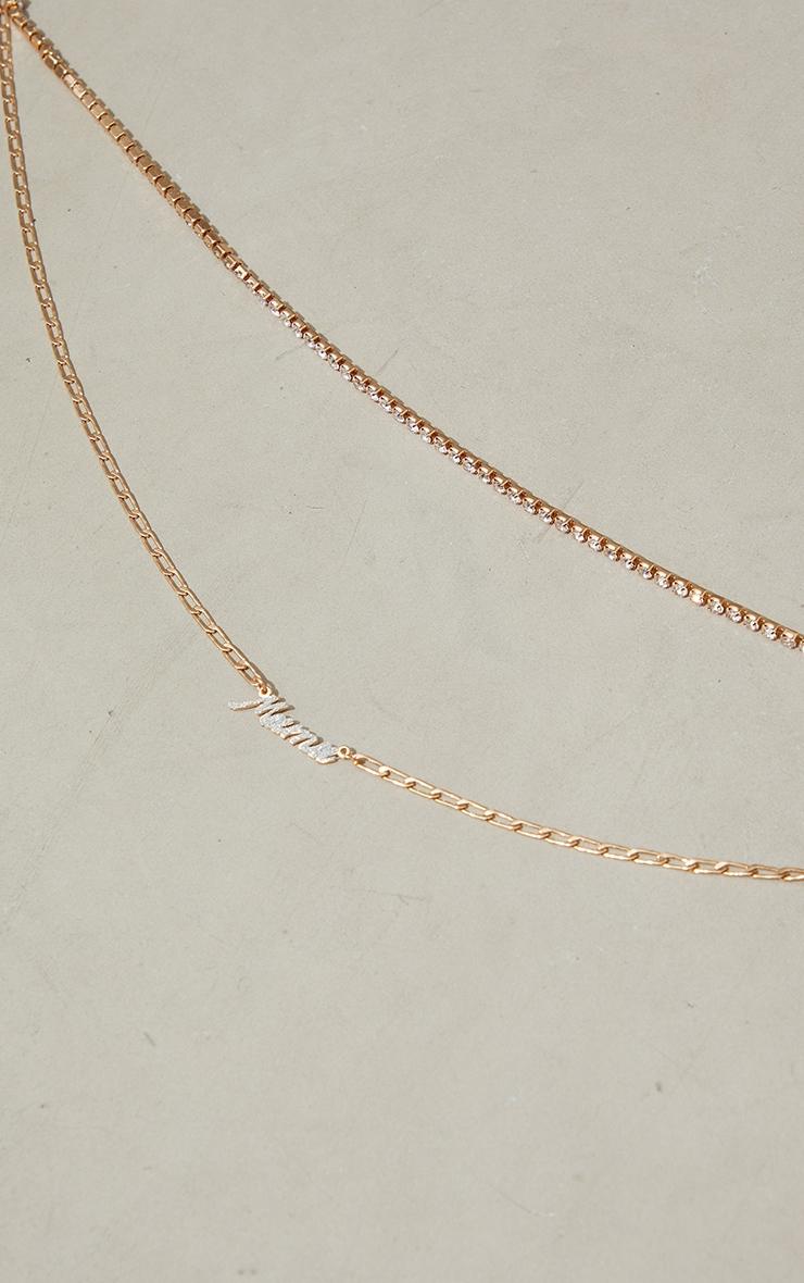 Diamante Mama Necklace 3