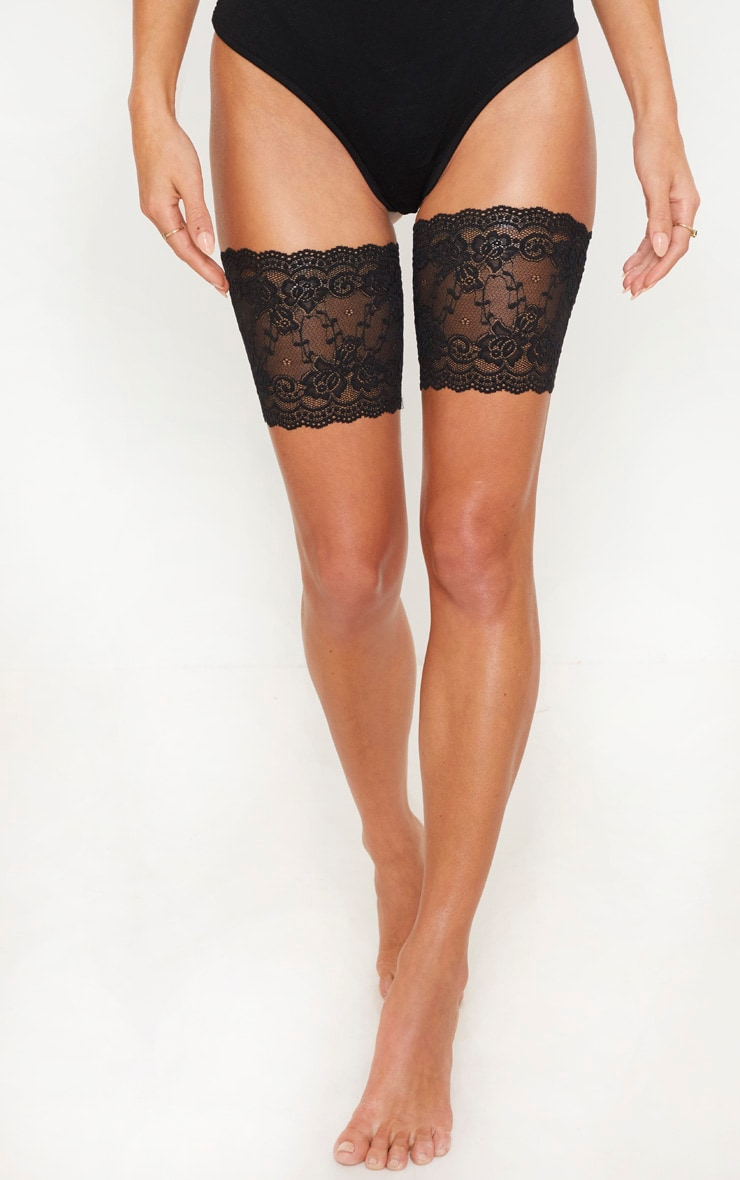 Black Lace Chafing Bands 2