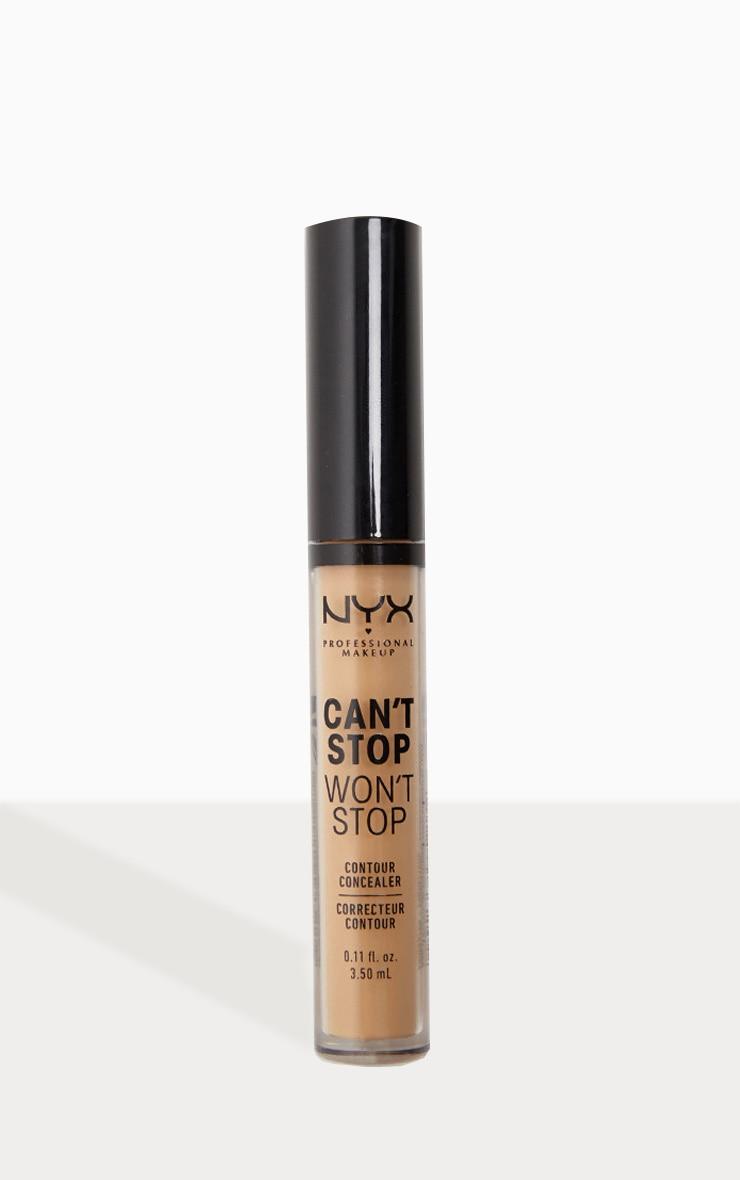 NYX Professional Makeup - Correcteur contour Can't Stop Won't Stop - Caramel 1