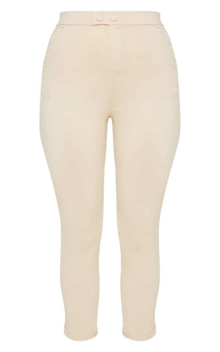Simi Cream High Waisted Jeggings 4